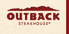 $8 off two entrees at Outback
