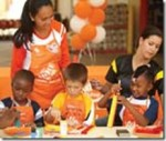 Free projects for kids at Home Depot stores