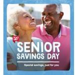 Walgreens offers Senior Savings Day discounts